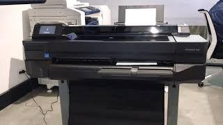 "HP DesignJet T520 A1 24"" Large Format Printer"