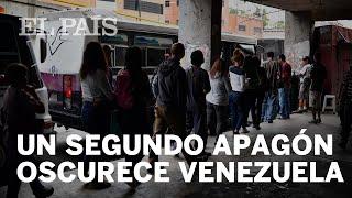 Venezuela enfrenta el segundo apagón del mes