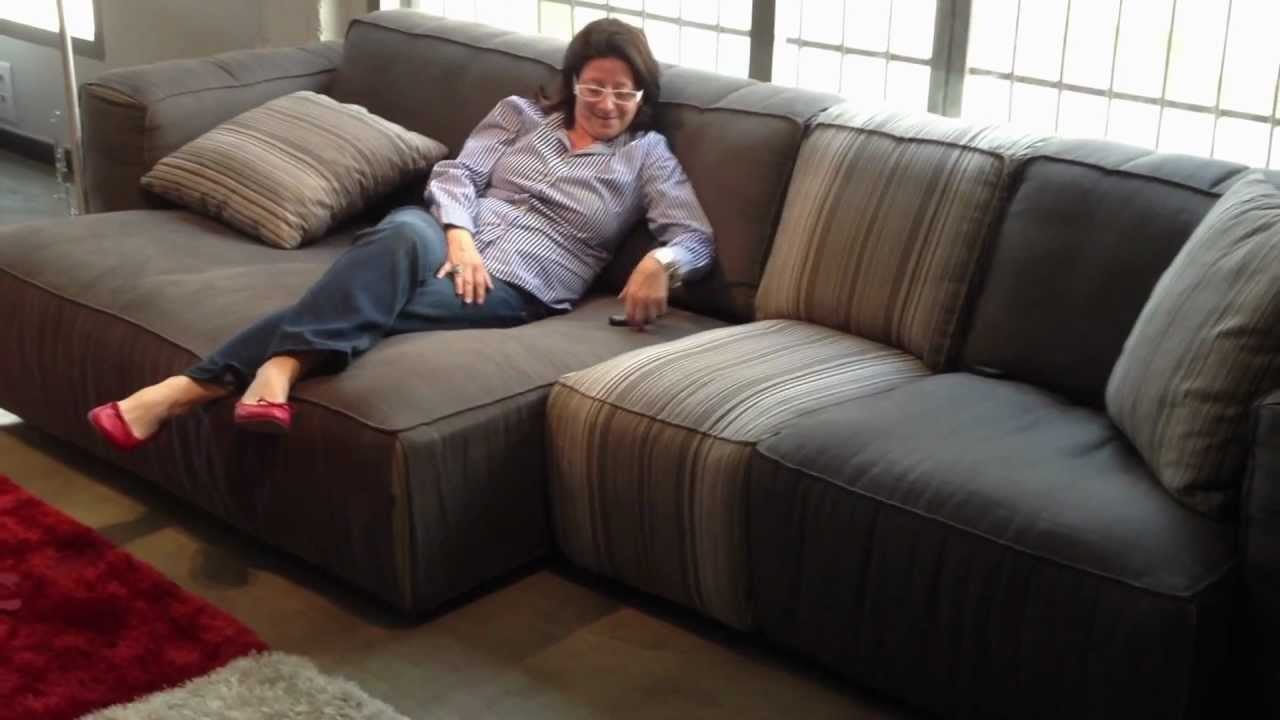 SOFT sofa. Sliding seats (asientos deslizantes) - YouTube