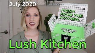 Lush Kitchen Subscription Box | July 2020