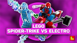 ◉ Обзор LEGO Marvel - Spider-Man vs. Electro stop motion build review┃ЛЕГО Марвел Человек-паук 76014