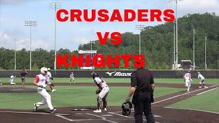 Crusaders Baseball Club 15u vs Knights Baseball Premier 15U at Perfect Game Cartersville Georgia