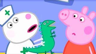 Свинка Пеппа на русском все серии подряд 💊 Домашние Доктора ⭐ Мультики