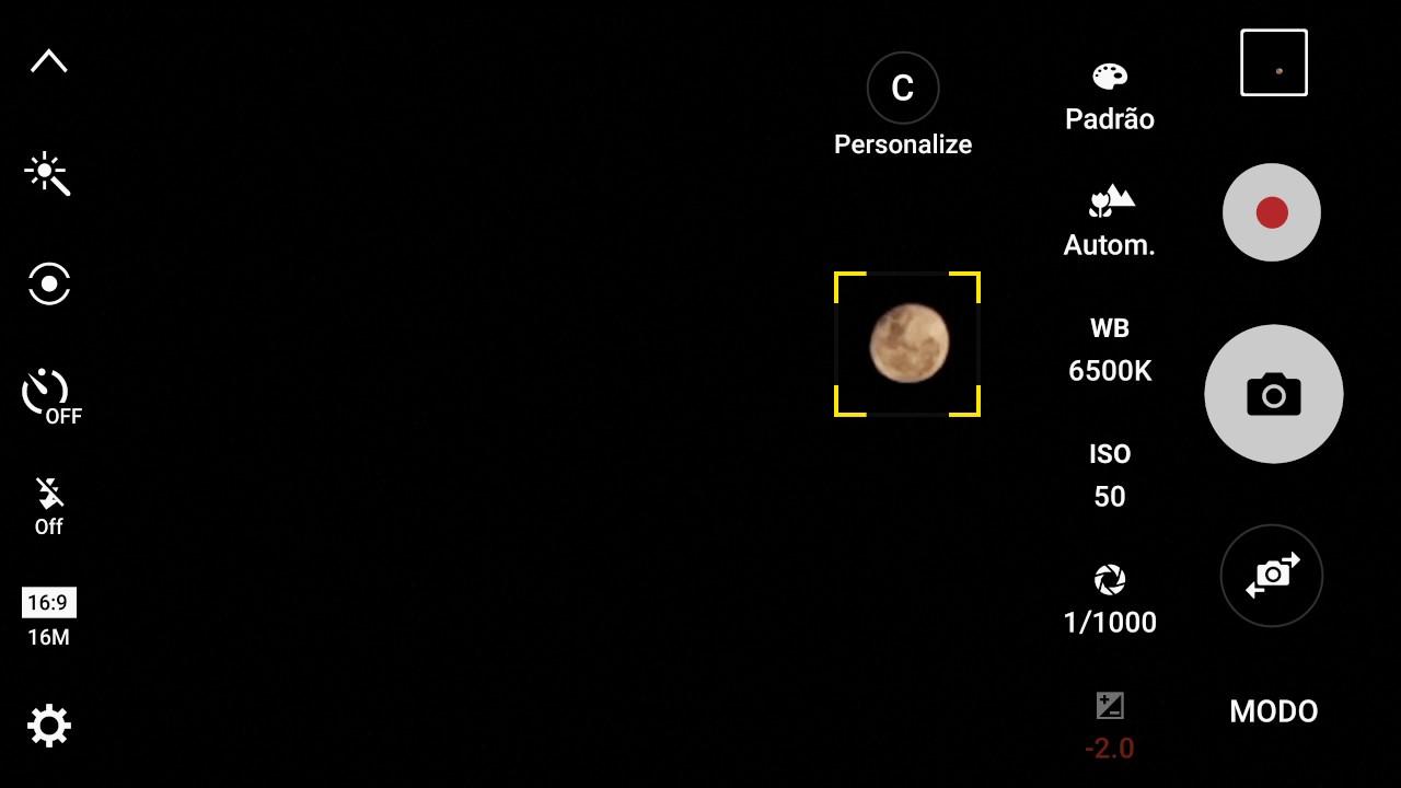 Tirar foto da lua 55