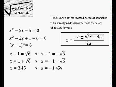 wiskunde herleiden