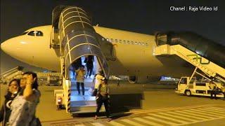 Terbang Dengan Airbus A330-300 Pesawat Garuda Indonesia Bali Jakarta, Pengalaman Terbang Malam