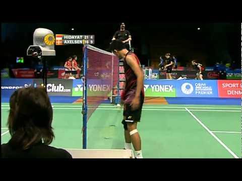 R16 - MS - Taufik Hidayat vs Viktor Axelsen -  Yonex Denmark Open