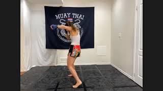 Muay Thai with Jiana
