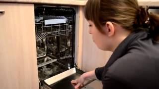 видео Встраиваемая посудомоечная машина узкая Beko DIS 4530