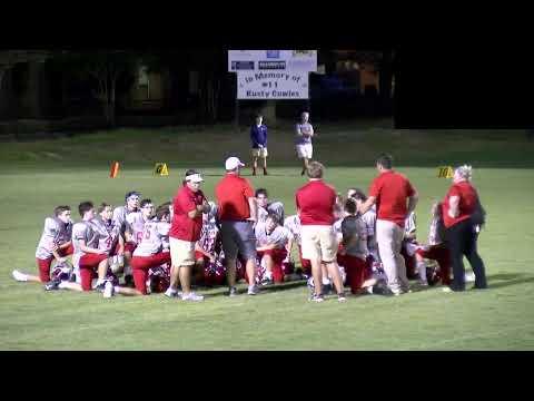 Recorded Live St. Michael's Middle School Football vs. Elberta Middle School 8/29/19