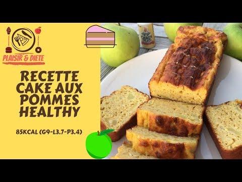 cake-aux-pommes-healthy-(85kcal)- -recette-&-dÉgustation-#recipe