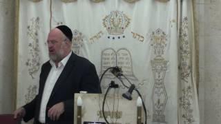 הרב ברוך רוזנבלום פרשת וילך 4 תשע״ז Rabbi Baruch Rosenblum