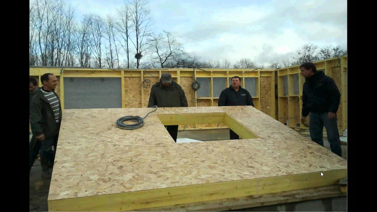 maison bois en kit de 170m  YouTube