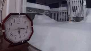 Timelapse - Valentines Snow Storm 2014 in Upstate New York