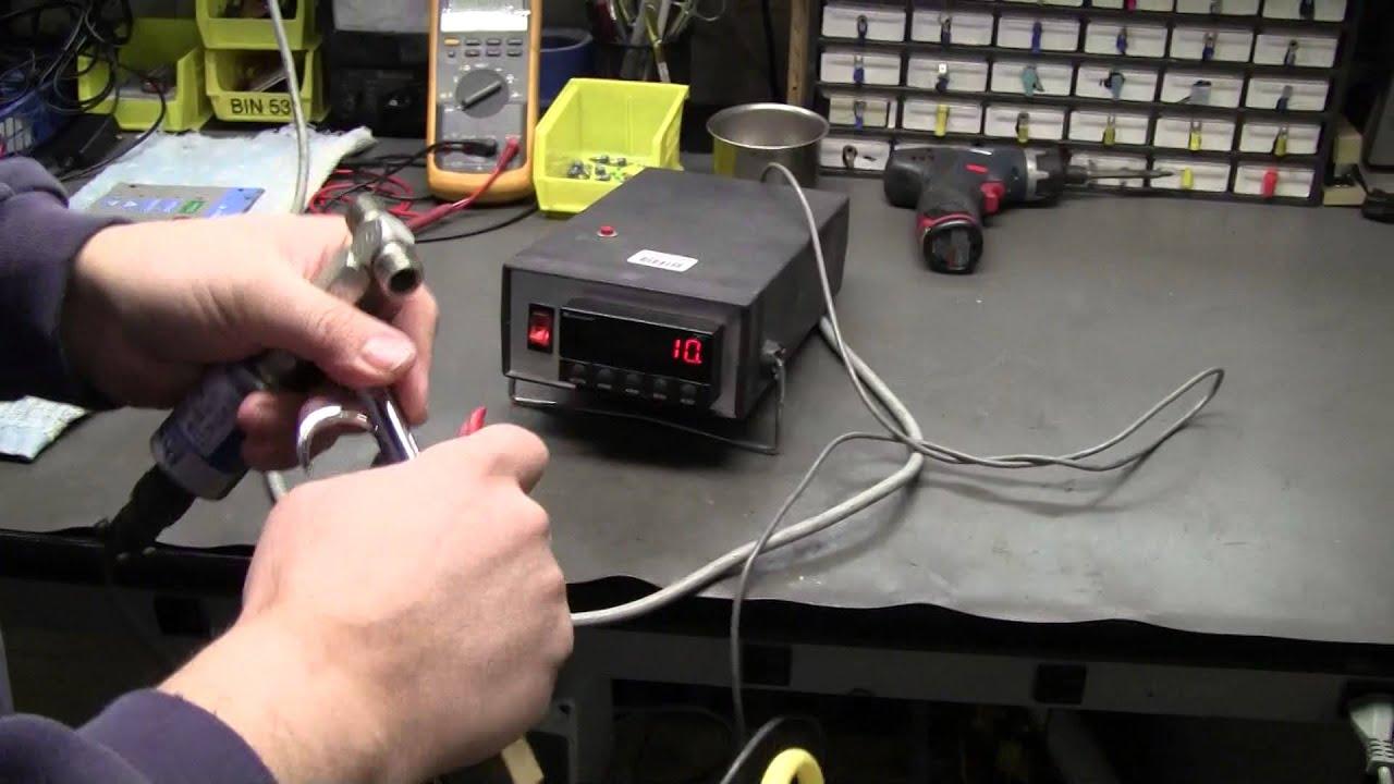 Dynisco Hydraulic Pressure Transducer - YouTube
