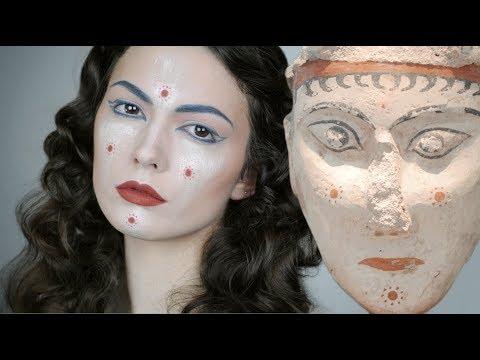 Sphinx   Ancient Greek Art Inspired Makeup