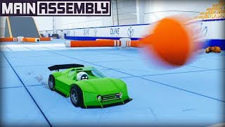 Took My Sports Car Through The Gauntlet... Results as Expected. (Main Assembly Gameplay)