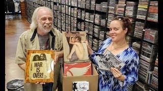 Vinyl Records and Lennon Yoko Stuff