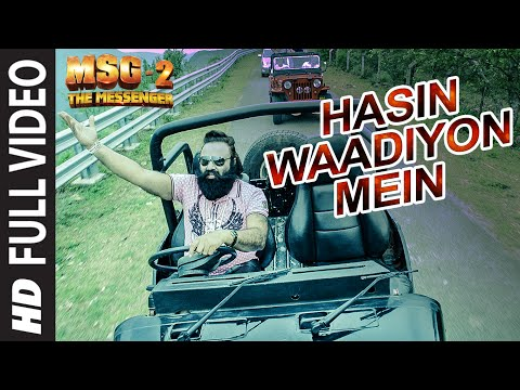 Hasin Waadiyon Mein FULL VIDEO Song | MSG-2 The Messenger | T-Series