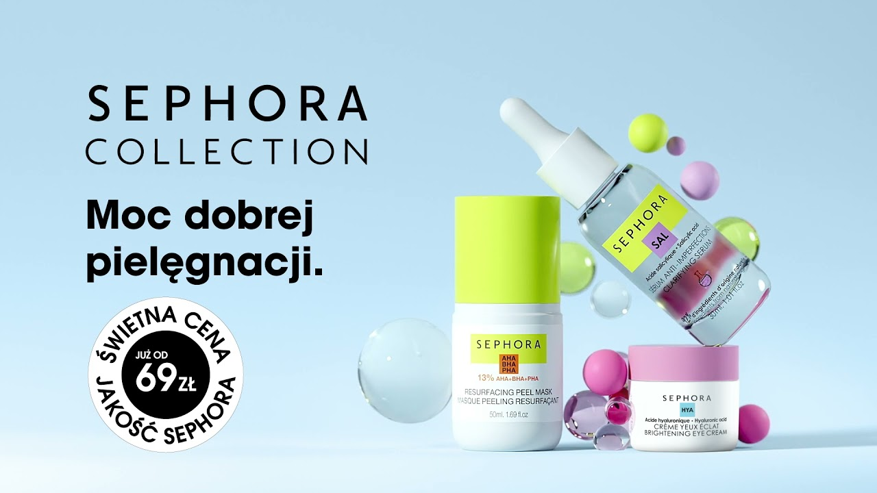 SEPHORA COLLECTION Good For - 3 produkty w cenie 2!