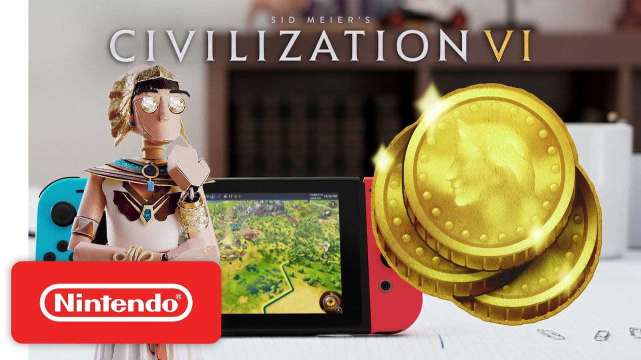 Civilization VI: How to Win a Game - Gameplay Trailer - Nintendo Switch