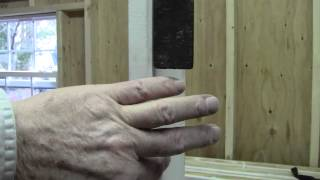 How To Make A Door Frame For Shed Pt 2