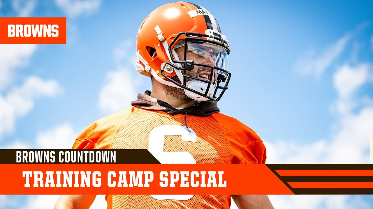 Training Camp Special   Browns Countdown