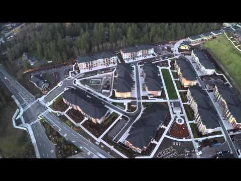 3DR Solo - Aerial Timelapse - Issaquah Highlands, Washington