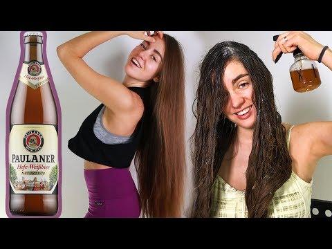 Маски для волос в домашних условиях из пива