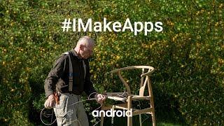 #IMakeApps | Hans Jørgen Wiberg | Chair restorer | Be My Eyes | Denmark
