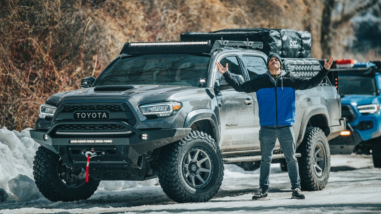 We Build an Overland Toyota Tacoma in 4 days | Price Breakdown