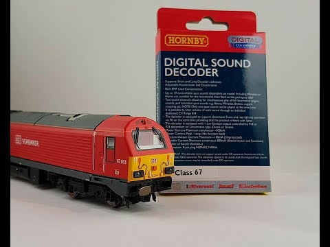 How to install the Hornby Class 67 TTS decoder