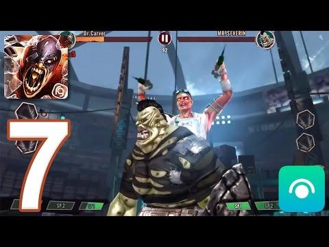 Zombie Deathmatch - Gameplay Walkthrough Part 7 - League 4: 5-9 [Boss] (iOS, Android)