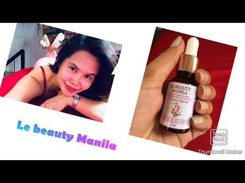 Vlog #6 DIY -Le Beauty Manila Eyebag serum remover#antiaging#eyebagremover #eyepuffinness#php85