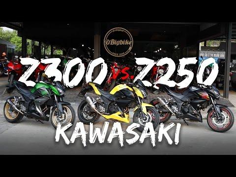 ข้อแตกต่าง   Kawasaki Z250 vs. Z300   ดาวน์เริ่มต้น 9,000บาท