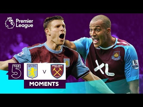 Aston Villa v West Ham | Milner, Hendrie, Harewood, Zamora | Top 5 Moments
