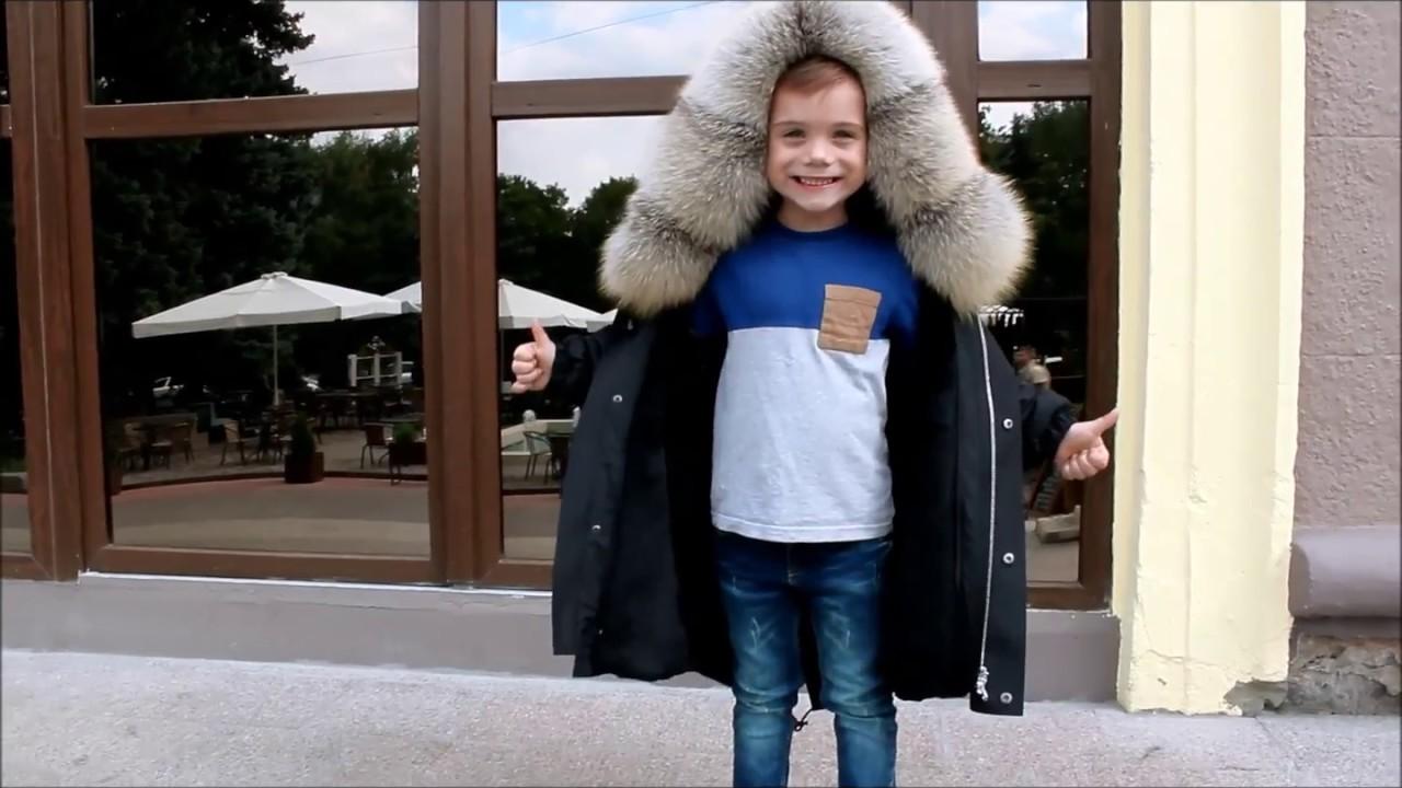 Детские зимние куртки Borelli - YouTube