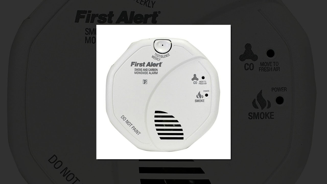 new reviews first alert brk sc7010b hardwire combination smoke and carbon monoxide alarm - First Alert Smoke Detector