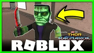 Roblox Thor Ragnarok Halloween Event, Special Items in the Assassin Game! SallyGreenGamer, Geegee92