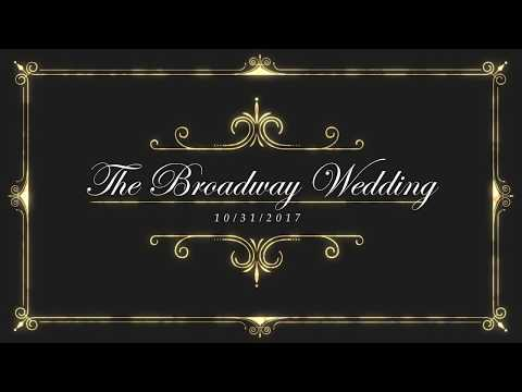 The Broadway Wedding-10/31/2017