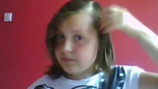Szybkie i proste loczki na krótkie włosy ;)