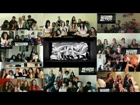 BTS (방탄소년단) 'FAKE LOVE' Official MV Reaction Mashup