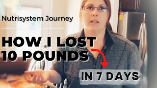 Nutrisystem Diet Review For Your First Week Fast Weight Loss