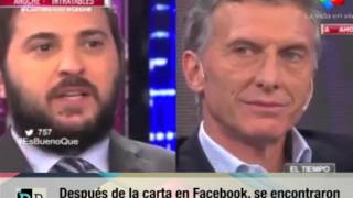 ok Despues de la carta en Facebook se encontraron Macri y Brancatelli