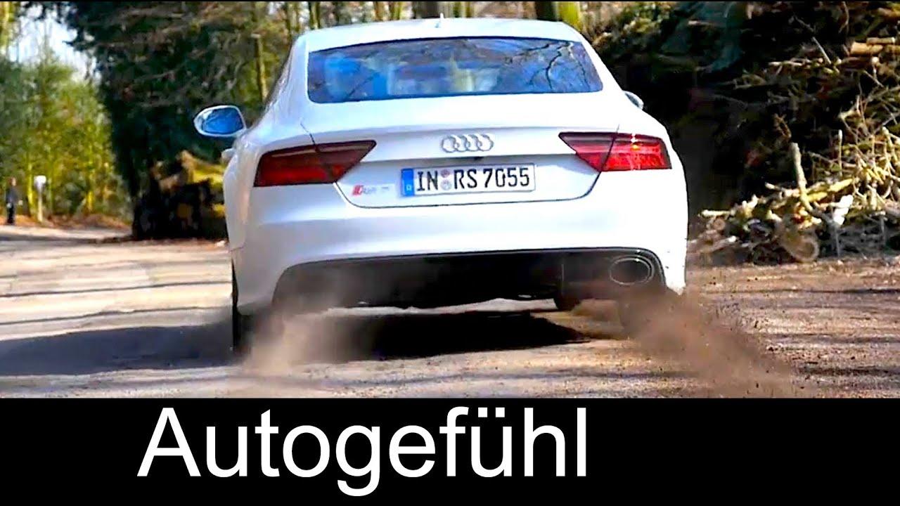 Audi Rs7 0 60 >> Audi Rs7 Facelift Acceleration 0 100 0 200 Km H 0 60 0 125 Mph Quattro 560 Hp Autogefuhl