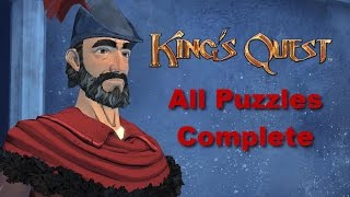 King's Quest Chapter 4 - All Puzzles Complete