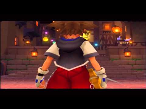 Kingdom Hearts - Beating Leon