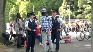 原宿 代々木公園の警察官です by picua.