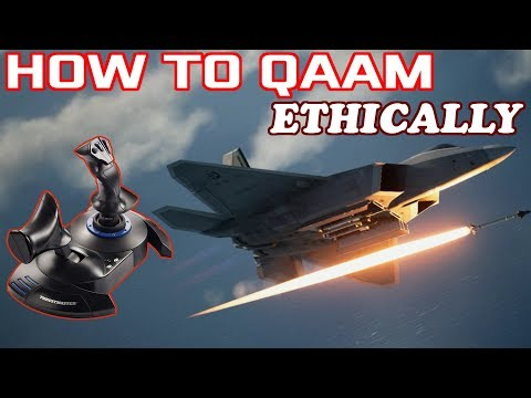 How to Qaam ETHICALLY - Tips and Hints for Ace Combat 7's Multiplayer Mode