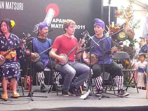 Japan Matsuri 2011 - London Okinawa Sanshin Kai - Haisai Ojisan/Ojijiman medley